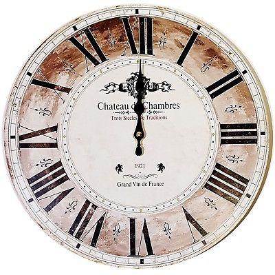 955 Mebus Wanduhr ! Motivuhr ! 33,5 cm Ø , schickes design , leises Uhrwerk