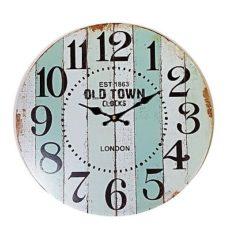 953 Mebus Wanduhr ! Motivuhr ! 33,5 cm Ø , modernes design , leises Uhrwerk