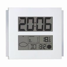 927 Mebus Funkwetterstation mit Wetterprognose und großem Display