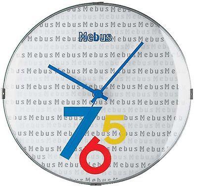 268 Mebus Wanduhr !extravagant & Modern !