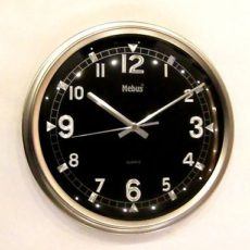 595 Wanduhr ! metall !super modernes design! !