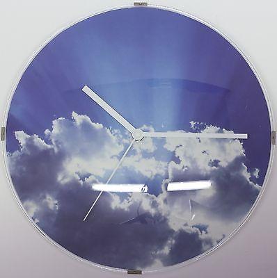 613 Wanduhr ! Super moderne Wanduhr mit Wolken Design !