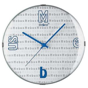 267 Mebus Wanduhr !extravagant & Modern !