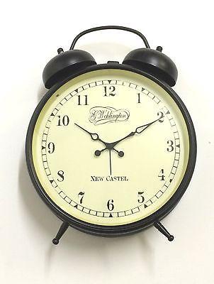773 Nextime Glockenwecker 5147 Metall !dunkel braun ! leises Uhrwerk