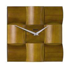 453 Mebus Wanduhr ! Holz super moderes design Neu!