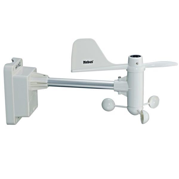Windmesser Anemometer Sender für Professionelle Wetterstation Mebus 10397