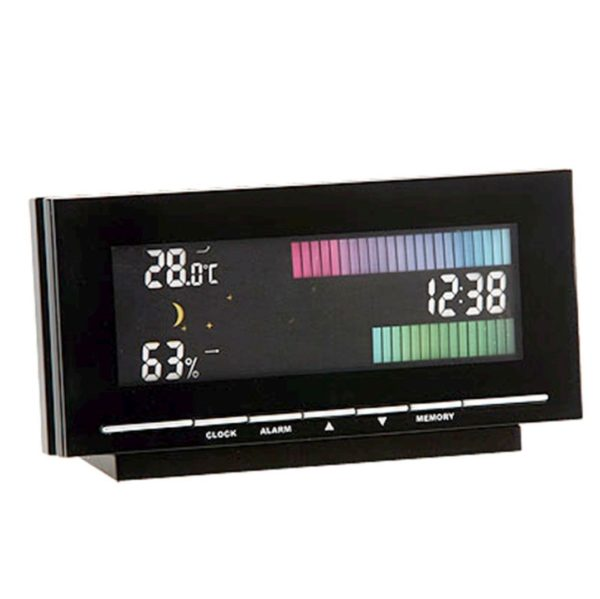 882 Mebus Wetterstation mit Farbdisplay Farbtreppe LCD 10360